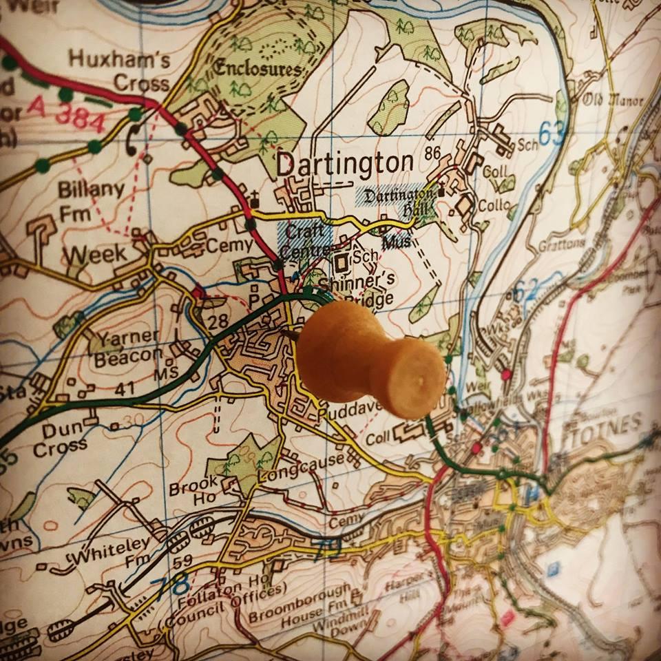 Dartington map