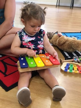 Playing my xylophone